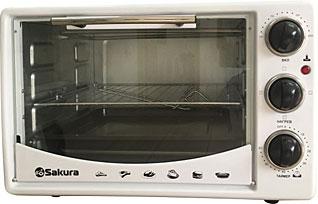 Настольная духовка с таймером Sakura SA-7014WМелкобытовая техника<br><br>