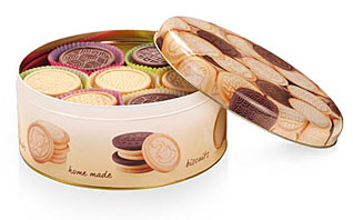 Контейнер для печенья DELICIA диам. 20 см Tescoma 630120Выпечка<br><br>