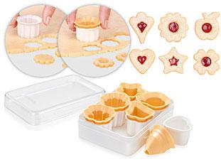 Формочки для традиционного песочного печенья DELICIA, 6 шт Tescoma 630932Выпечка<br><br>