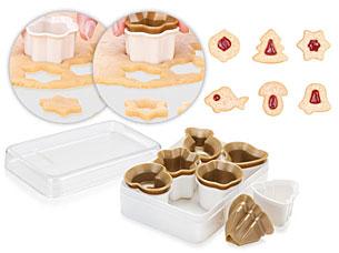 Формочки для рождественского песочного печенья DELICIA, 6 шт Tescoma 630934Выпечка<br><br>