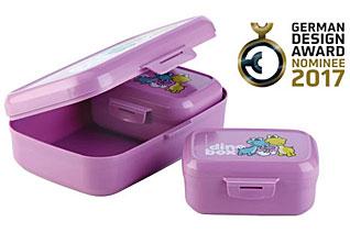 Контейнер для закусок DINO,3 шт, пурпурный Tescoma 668330.23Хранение и упаковка продуктов<br><br>