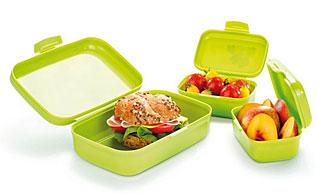 Контейнер для закусок DINO,3 шт, зеленый Tescoma 668330.25Хранение и упаковка продуктов<br><br>