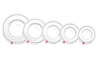Крышка пластиковая UNICOVER 5шт для наборов кухонной посуды PRESTO,AMBITION, VIVA Tescoma 782840Варка и жарка<br><br>