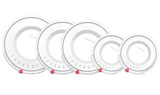Крышка пластиковая UNICOVER 5шт для наборов кухонной посуды HOME PROFI Tescoma 782845Варка и жарка<br><br>
