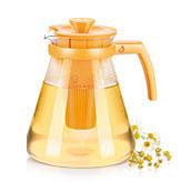 Чайник TEO TONE 1.7л, с ситечками для заваривания, желтый Tescoma 646625.12Напитки<br><br>