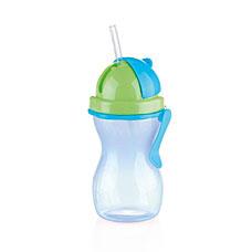 Детская бутылочка с трубочкой BAMBINI 300мл, синий Tescoma 668172.54Tescoma для детей<br><br>