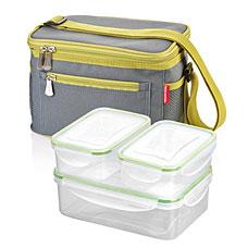 Термосумка FRESHBOX, с 3 контейнерами, серый Tescoma 892245.43Хранение и упаковка продуктов<br><br>
