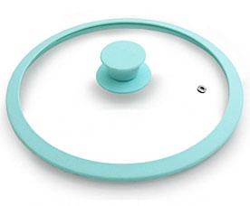 Стеклянная крышка Eden 28 см с силиконовым ободком Fissman 9930Сковороды<br><br>