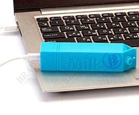 Аккумулятор портативный Молочный заряд, голубой Bradex SU 0040Электроника<br><br>