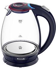 Электрочайник Winner WR-100 1,7л стеклянныйЧайники и кофеварки<br><br>
