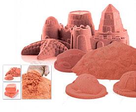 Песок для игры Чудо-песок 1 кг оранжевый Bradex DE 0195игрушки<br><br>