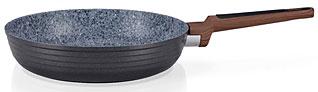 Сковорода для жарки Diamond Grey 20 х 4.8 см Fissman 4301Сковороды<br><br>