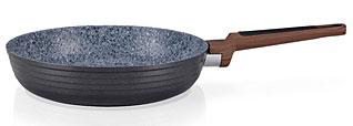 Сковорода для жарки Diamond Grey 24 х 5.5 см Fissman 4302Сковороды<br><br>