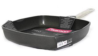Квадратная сковорода - гриль Pro 28 х 5.5 см Fissman 4203Сковороды<br><br>