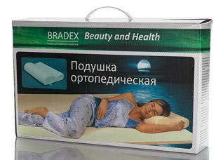 Ортопедическая подушка Здоровый сонПодушки массажные<br><br>