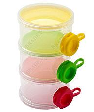 Трехслойный контейнер с боковыми отверстиями для продуктов Bradex DE 0211гигиена и кормление<br><br>