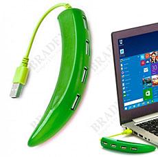 Разветвитель USB hub Перчик, зеленый Bradex SU 0044Электроника<br><br>