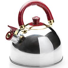Чайник Mayer&amp;Boch MB-4516-2, бордовый, 3л, свистокЧайники<br><br>