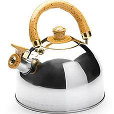 Чайник Mayer&amp;Boch MB-1622-2, жёлтый, 2л, свистокЧайники<br><br>