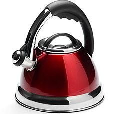 Чайник Mayer&amp;Boch MB-3947-1, красный, 2.6л, свистокЧайники<br><br>