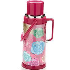 Термос Mayer&amp;Boch MB-21870-2, розовый, 3.2л, стекл.колбаТермосы<br><br>