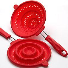Дуршлаг силиконовый Mayer&amp;Boch MB-4434-1, красный, 20смРазное<br><br>