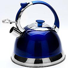 Чайник Mayer&amp;Boch MB-23167-3, синий, 2.7л, свистокЧайники<br><br>