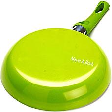 Сковорода Mayer&amp;Boch MB-21957, зелёный, 26смСковороды антипригарные<br><br>