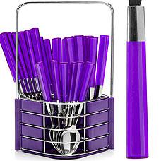 Набор столовых приборов Mayer&amp;Boch MB-23241-1, фиолетовый, 25прСтоловые приборы<br><br>
