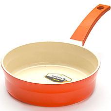 Сковорода Mayer&amp;Boch MB-21242-3, оранжевый, 24смСковороды антипригарные<br><br>