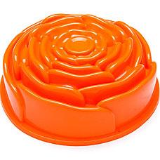 Форма для кекса Mayer&amp;Boch MB-21976-3, оранжевый, 23x23x8см, 1.8лТовары для выпечки<br><br>