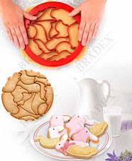 Форма для вырезания печенья Зоопарк Bradex TK 0214Товары для выпечки<br><br>