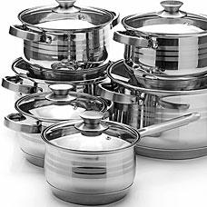 Набор посуды Mayer&amp;Boch MB-26044, 12пр 2,1+2,1+2,9+2,9+6,6+8лПосуда<br><br>