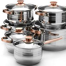 Набор посуды Mayer&amp;Boch MB-26043, 12пр 2,1+2,1+2,9+2,9+6,6+8лПосуда<br><br>