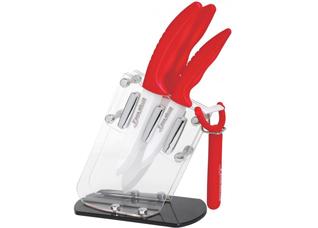 Набор керамических ножей на подставке Frank Muller 343, 5 предметовНожи<br><br>
