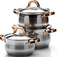 Набор посуды Mayer&amp;Boch MB-25092, 6пр 1,8+2,5+3,5лПосуда<br><br>