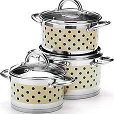 Набор посуды Mayer&amp;Boch MB-25166, 6пр 2+2,8+3,8лПосуда<br><br>