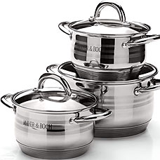 Набор посуды Mayer&amp;Boch MB-25668, 6пр 2,1+2,1+3,9лПосуда<br><br>
