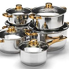 Набор посуды Mayer&amp;Boch MB-25752, 12пр 1,4+1,4+2+2+2,9+4,9лПосуда<br><br>