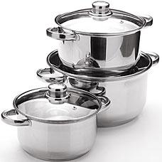 Набор посуды Mayer&amp;Boch MB-25753, 6пр 2+2,9+4,9лПосуда<br><br>