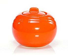 Сахарница 350 мл оранжевая Fissman 9280Чайники и термосы<br><br>