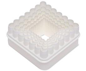 Формочки для печенья в виде квадратов PAVO, 5шт Dosh i Home 300273Товары для выпечки<br><br>