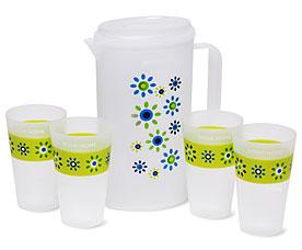 Набор GRUS, кувшин и 4 чашки Dosh i Home 500100Сервировка стола<br><br>