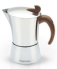 Гейзерная кофеварка на 9 порций / 600 мл Fissman 9415Чайники и термосы<br><br>