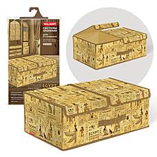 Короб стеллажный 2-х секционный, 50x30x20 см, EGYPT Valiant EG-BOX-L2Товары для гардероба<br><br>