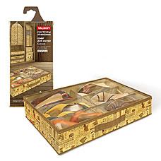 Кофр для хранения обуви, 6 секций, 60x40x12 см, EGYPT Valiant EG-S6Товары для гардероба<br><br>