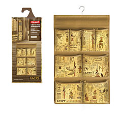 Кофр подвесной для хранения, с вешалкой, 8 карманов, 36x60 см, EGYPT Valiant EG-P8Товары для гардероба<br><br>