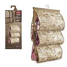 Кофр подвесной для хранения сумок, с вешалкой, 5 карманов, 42x72 см, VINTAGE Valiant VN-P5Товары для гардероба<br><br>