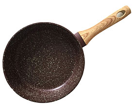 Сковорода для жарки Mosses stone 24 x 6,5 см Fissman 4296Сковороды<br><br>