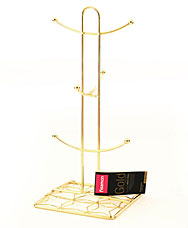 Подставка для кружек Gold Fissman 8927Кухонные аксессуары<br><br>